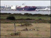 Dibden Bay