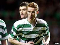 Stephen Pearson made his Celtic debut