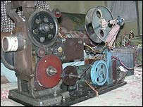 Mohammed Salim's projector