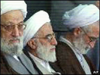 Members of Iran's Guardian Council