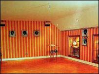 Interior shot of Michael Owen's former home
