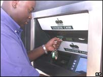 Harare cashpoint