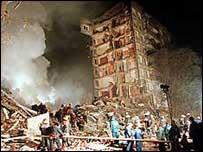 Apartment blast in 1999