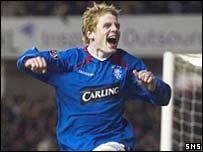 Rangers winger Chris Burke