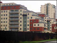 Flats in Silvertown