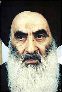 Grand Ayatollah Ali Sistani. Archive picture