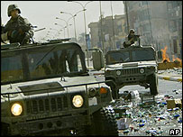 US forces in Baghdad