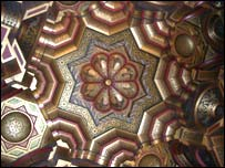 Arab room ceiling, Cardiff Castle