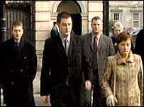 Family of Pat Finucane at courts