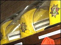 fireman's helmets