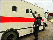 Prison truck