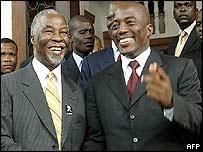 Mbeki and Kabila