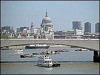 Vista desde el puente de Waterloo.