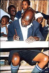 Kimani Nganga Maruge and classmates