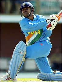 Verender Sehwag top scored for India with 90 runs