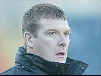 Limavady United manager Tommy Wright
