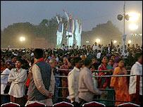 Crowd in Hyderabad