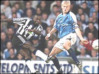 Newcastle and DR Congo's Lomana Lua Lua