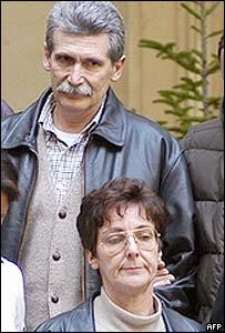 Rita Algranati (below) and Maurizio Falessi