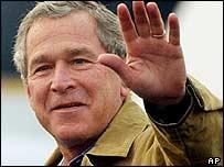 US President George W Bush, January 2004
