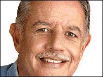 Oscar Berger, presidente de Guatemala