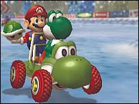Screenshot of Mario Kart: Double Dash!