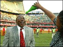 Former South Africa coach Ephraim Mashaba