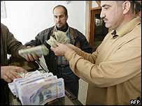 Iraqi money changer