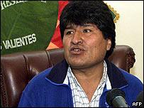 Diputado Evo Morales