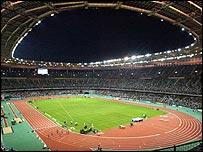 The Stade de France forms an important part of the Paris bid