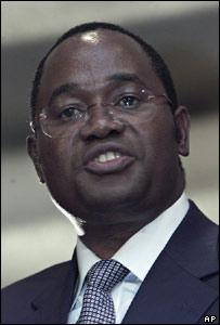 Zimbabwean Reserve Bank Governor Gideon Gono