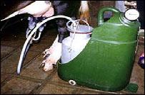Milking machine, NIF
