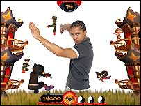 Screenshot of EyeToy