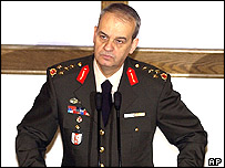 Deputy chief of staff Ilker Basbug