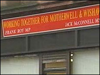Labour's Motherwell and Wishaw constituency office