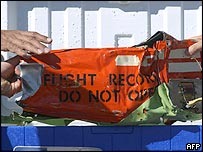 The first black box of the Flash Airlines flight retrieved on Friday