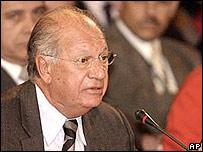 Ricardo Lagos, presidnete de Chile.