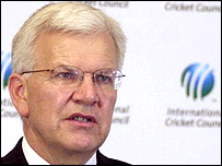 ICC chief Malcolm Speed