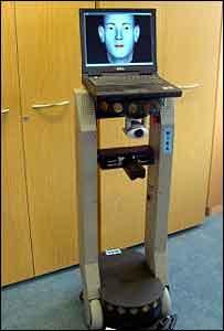 Sunderland University's Mira robot