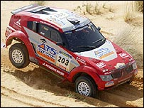 Dakar Rally winner Stephane Peterhansel