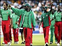 Kenya celebrate