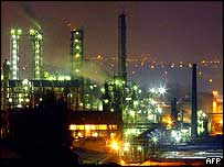 The petrochemical plant of Noroxo at Harnes