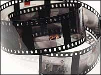 Roll of transparency film