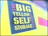 Big Yellow Storage Company logo