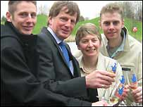 The Griffiths family
