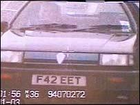 Ernie Harbon's car