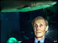 Jaws author Peter Benchley