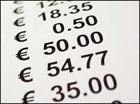 A euro till roll