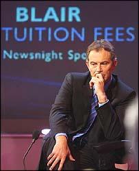 Tony Blair on Newsnight