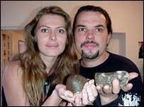 Mars rocks, Fectay